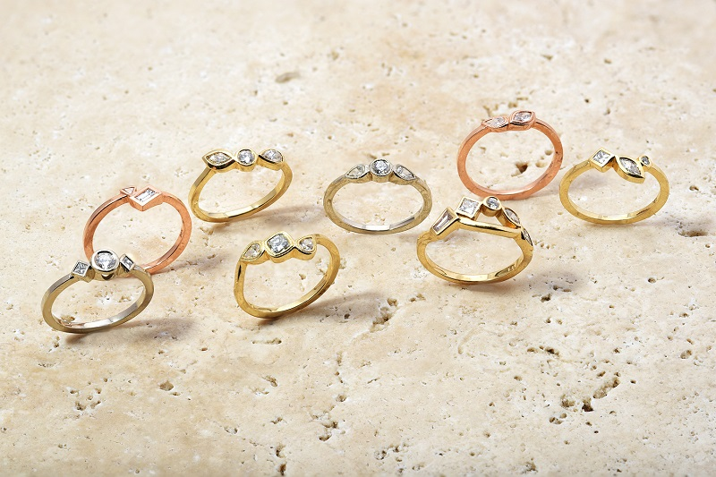 Different Shapes Collection | Handmade Rings