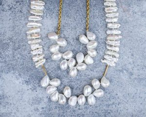 Pearl 14K Gold Necklace